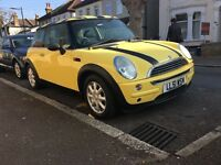 MINI ONE HATCHBACK 1.6 PETROL MANUAL 85k,YEARS MOT DRIVES GOOD