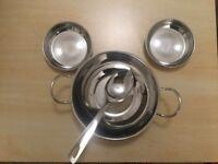 Serving Kadai and two bowls