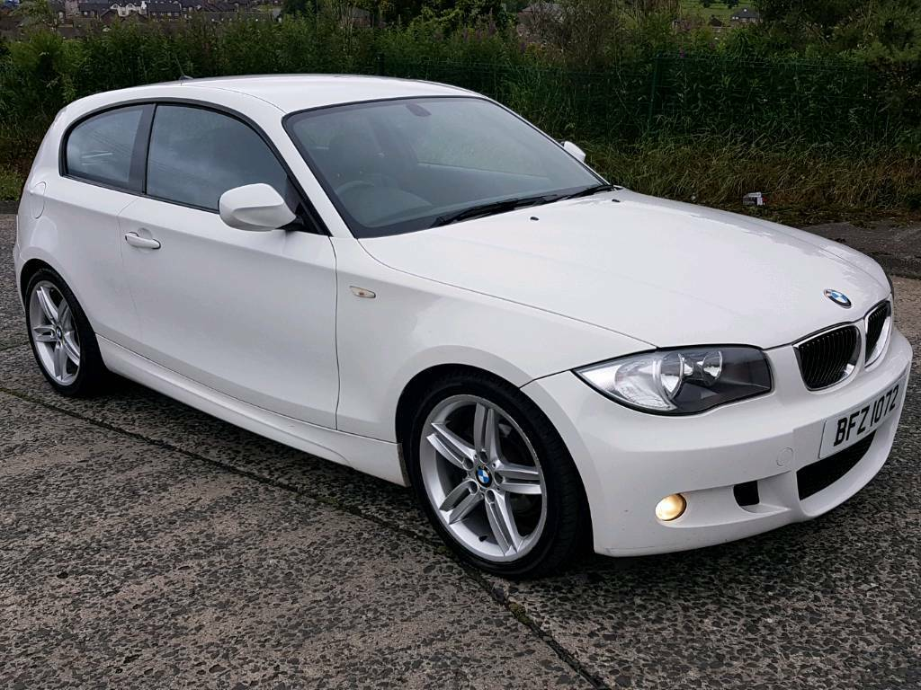 2010 bmw 116d m sport 6 speed manual factory white 120d 320d mini in templepatrick county. Black Bedroom Furniture Sets. Home Design Ideas