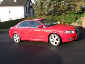 Audi A4 Si leather seats alloys service history mot till late Dec 17 nice car driving well