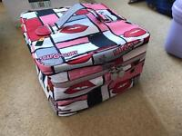 Soap and glory make up/cosmetic bag