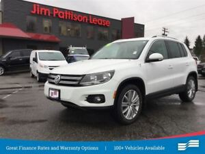 2015 Volkswagen Tiguan Highline 4Motion w/NAV, leather, roof