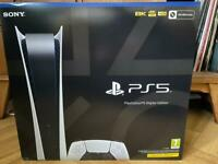 Playstation 5 PS5 Digital edition
