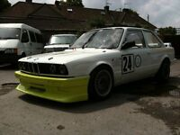 BMW E30 335i M3 Race Car Track Hill Climb Rally Sprint 325i Coupe E28 M535i M30 Engine. PBMW Kumho