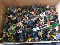lot of Warhammer figures.