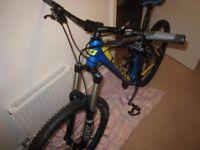 Mountain bike - Mens medium - 27.5 Ghost Cagua Enduro MTB - As new was £3000
