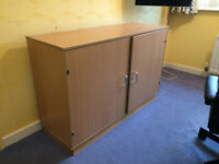 GALT Toy Cupboard with cubby holes and lockable with key