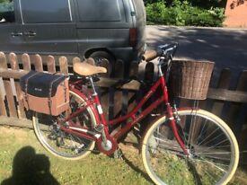 Pendleton Somerby Hybrid Bike - Maroon Red