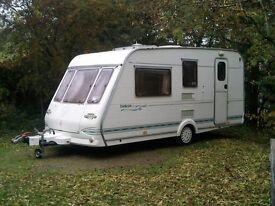 4-berth caravan (year 2000) Herald Emblem SE 450/4 tourer