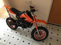 DB49 49cc 2 stroke dirt bike