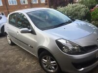 Clio dci diesel 2007 year £30 tax mot March group 4 insurance £875