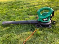 Black and Decker leaf blower/ garden vacuum