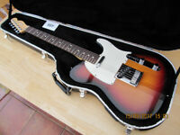 USA Fender Telecaster Standard 2002. 3 Tone Sunburst. Superb Condition.