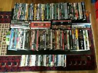 Dvd job lot,144 various titles.