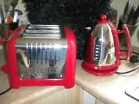 Dualit 4 slot Toaster and automatic kettle combo.