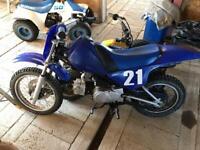 Yamaha PY90 PW child's motorbike
