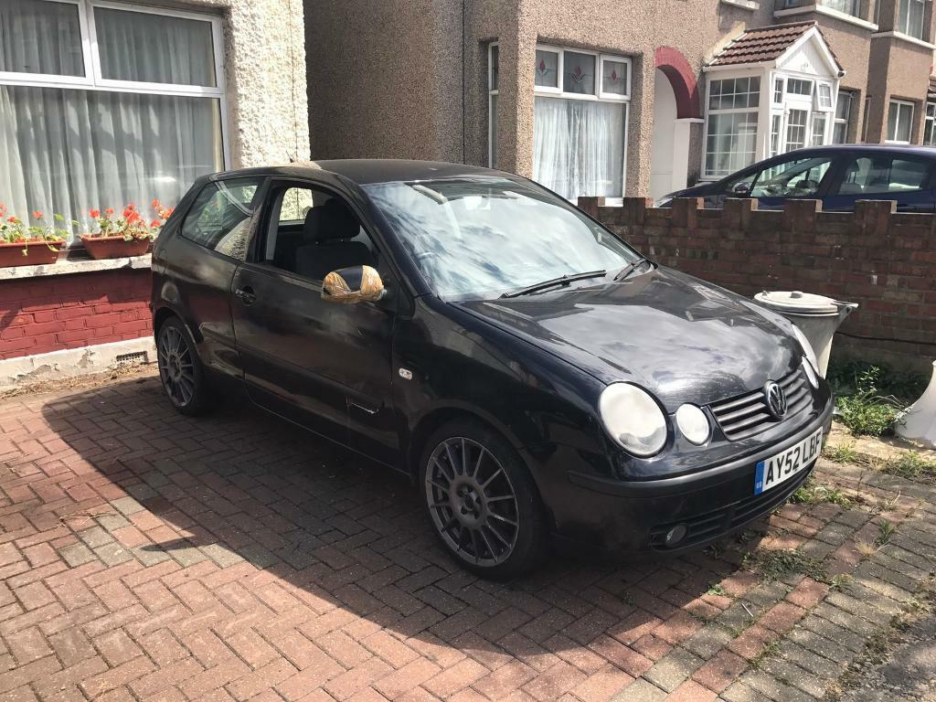 vw polo 9n 1 4 tdi mot til 03 2018 17 alloys cheap insurance in ilford london gumtree. Black Bedroom Furniture Sets. Home Design Ideas