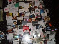 100s of promo compact discs dance music / dj