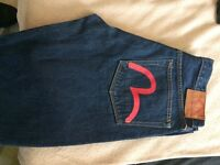 Evisu jeans in mint condition £50
