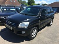 2005/05 KIA Sportage 2.0 CRDi XS 5Dr SUV WITH HEATED LEATHER+ELECTRIC SUNROOF