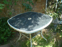 FREE GARDEN TABLE & FOUR CHAIRS