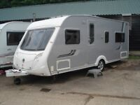 R&K CARAVANS PART EXCHANGE TO CLEAR 2008 SWIFT CONQUEROR 540 FIXED BED, 12 MONTHS WARRANTY