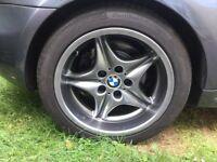 BMW M COUPE REAR ALLOY WHEEL
