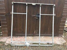 ifor williams horse box trailer rear door frame £50