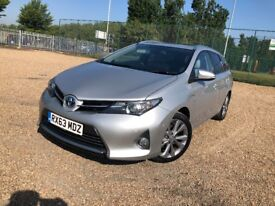 2013(63) TOYOTA AURIS 1.8 EXCEl(Leather)HYBRID AUTO ESTATE***ONE OWNER***UBER**PCO**NOT TOYOTA PRIUS