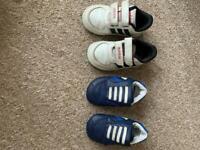 Boys infant trainers size infant 4