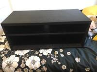 Dark Wood TV Stand Excellent Condition