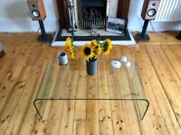 Glass Coffee Table (for collection only)