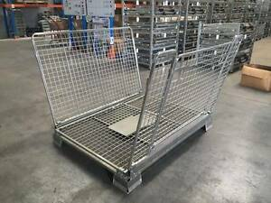 Collapsible Foldable Pallet Cage Stillage Brendale Pine Rivers Area Preview