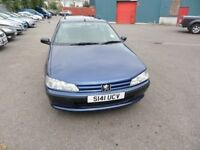 Peugeot 406 Estate With Low Mileage and MOT to July 2018