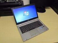 HP Elitebook 8460p laptop 320gb hd 8gb ram Intel 2.5ghz x 4 Core i5-2nd generation CPU