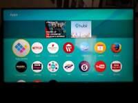 """PANASONIC 55"""" 4k UHD Wi-Fi smart TV"""