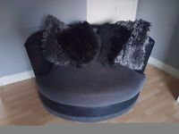 2 & 3 seater and cuddle chair. Must be sold asap!!