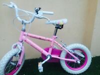 Girls Kids Bike - Good Condition