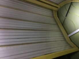 3 lydown sunbeds 3 stand ups for sale
