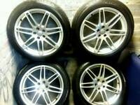 20 inch 5x112 genuine Audi Q5 alloys wheels.