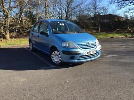 Citroen C3 Desire 5dr, Ideal New Driver, MOT DEC 18 (blue) 2004
