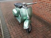 Vespa douglas scooter 1959.123cc PX engine