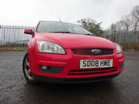08 FORD FOCUS 1.8 5 DOOR HATCH,MOT JUNE 018,2 OWNERS FROM,6 STAMP SERVICE HISTORY,2 KEYS,LOVELY CAR