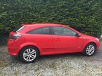 Red Vauxhall Astra 1.6 SXI Petrol June 2008 54,009 miles £2,750