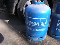 Calor Gas Butane Bottle 15kg Weymouth Free Local Delivery