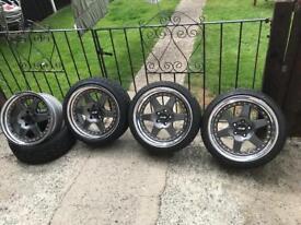 SSR XR4-Z 5x100 3 piece splits