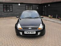 Great little Ford KA 1.6 Sport SE Black, leather interior £1000ono