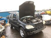 Mercedes ml 270 cdi spare parts available
