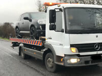 car recovery service, van recovery, 24/ 7 recovery