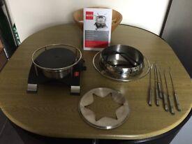 Novis electric fondue set